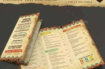 1705030 Trifold Mexican Food Menu 19108281 4