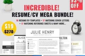 1705031 Resume CV Mega Bundle 1740422 3