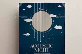 1705045 Acoustic Music Flyer 14485104 3