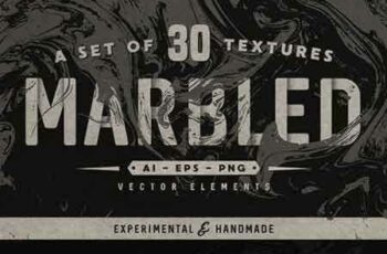 1705054 Set of 30 marbled vector textures 1742142 7