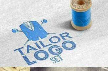 1705059 Set of vintage tailor tools & labels 1701983 5