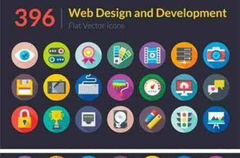 1705066 396 Web Design and Development Icons 1595844 2