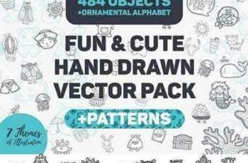 1705067 Fun & Cute Handdrawn Vector Pack 1730354 5