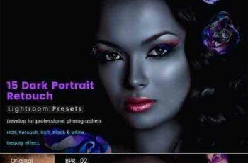 1705083 15 Dark Portrait Retouch Presets 20422338 6