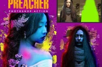1705102 Preacher Photoshop Action 20406490 8
