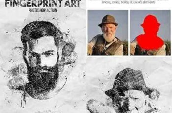 1705106 Fingerprint Art Photoshop Action 20410471 8