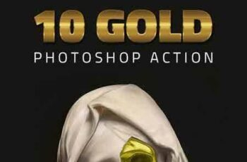 1705110 10 Gold Effect Photoshop Action 20460997 3