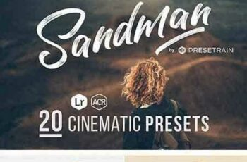 1705139 Sandman - 20 Cinematic Presets for Lightroom & ACR 20352482