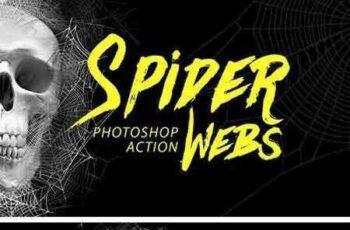 1705144 Spider Webs Photoshop Action 1683840 7