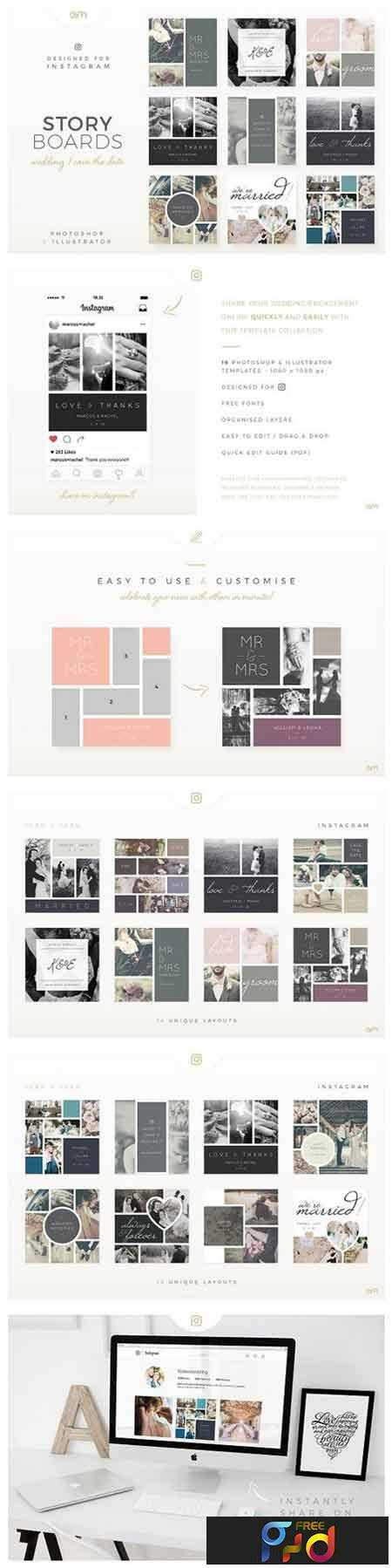FreePsdVn.com_1705180_TEMPLATE_storyboards_wedding_1289408