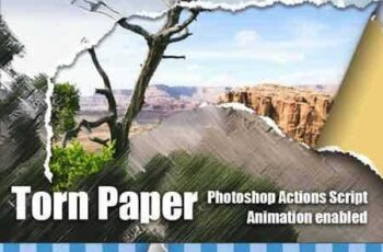 1705192 Torn Paper Animation Photoshop Add-on 20572901 5