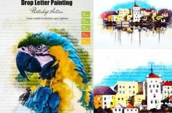 1705197 Drop Letter Painting Action 20534330 7