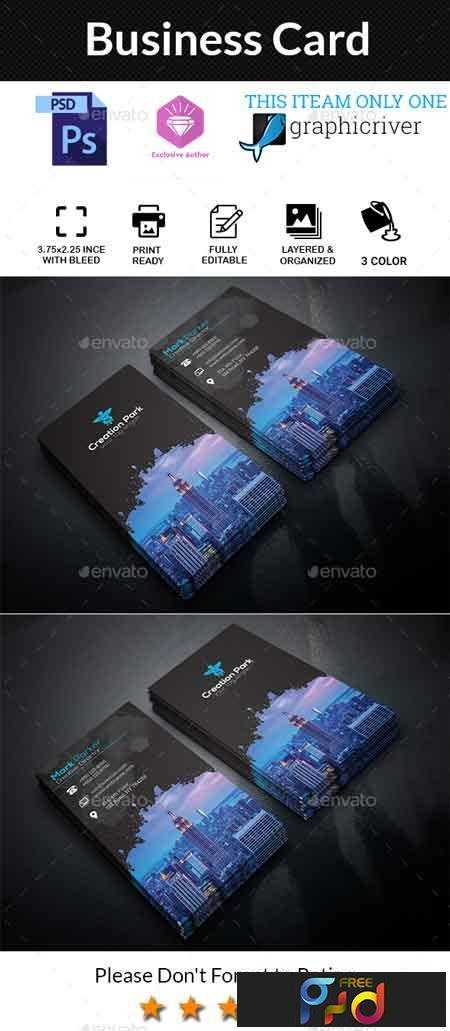 1705230 business card 20548608 free psd download free for Google drive business card template