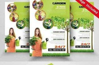 1705235 Green Service Flyer Templates 1828173 5