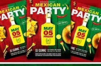 1705244 Mexican Party Flyer Template 1782926 3