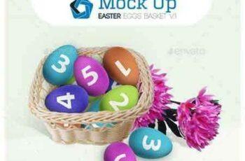1705263 Easter Eggs Basket V.1 10624064 5