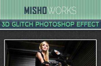1705277 3D Glitch Photoshop Effect 9496590 4