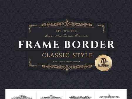 1705290 Frame borders & Ready-made cards 1850960 - FreePSDvn