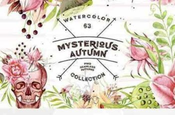 1705297 Watercolor Mysterious Autumn 1794074 3