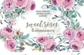 1706001 Pastel Pink Floral Arrangements 1808961 4
