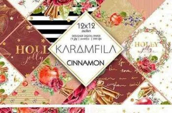 1706011 Cinnamon and Apples Patterns 1792682