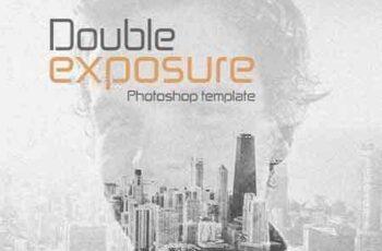 1706078 Double Exposure Photoshop Template 11484640 2