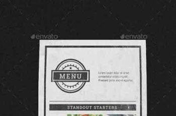 1706111 Vintage Menu Table ten 19742467 2