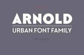 1706116 Arnold Font Family 1483826 8