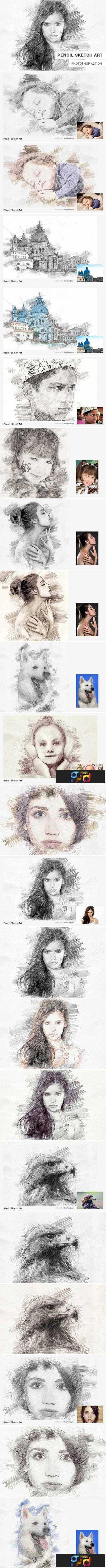 1706149 pencil sketch art photoshop action 1821521 1