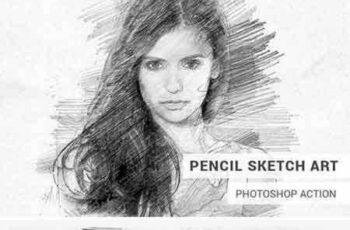 1706149 Pencil Sketch Art Photoshop Action 1821521 6