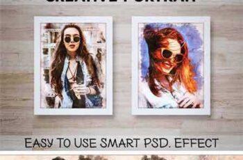 1706150 Creative Portrait Smart PSD Effect 1829541 3