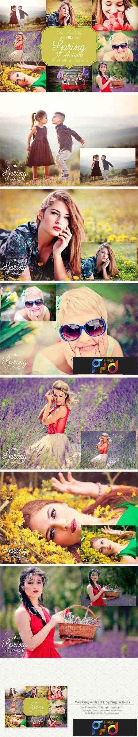 1706158 Spring Actions for Photoshop 1851565 1