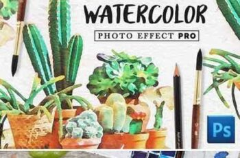 1706206 Watercolor Photo Effect Kit 1830118 1