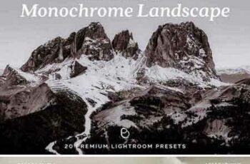 1706217 20 Monochrome Landscape Lr Presets 1835016 3