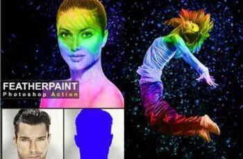 1706221 Feather Paint Photoshop Action 20673407 2