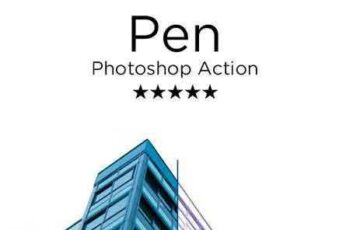 1706226 Pen Photoshop Action 20689257 10