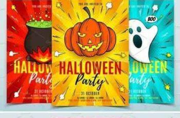 1706242 Halloween Party Flyers Templates 1885265 7