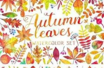 1706253 Watercolor autumn fall leaves 1853039 2