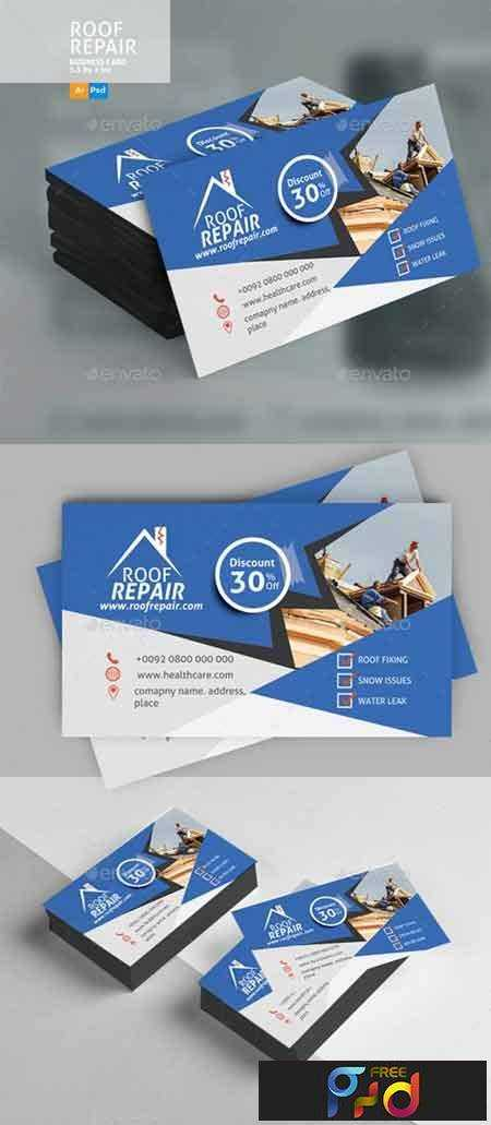 1706261 roof repair business card design 20773591 freepsdvn 1706261 roof repair business card design 20773591 photoshop psd vector eps ai illustrator 33 mb reheart Image collections