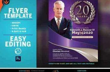 1706283 Lavender Pastor's Anniversary Flyer 1926726 5
