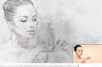 1707001 Sketch Art Photoshop Action 1921446