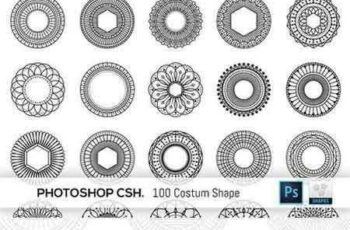 1707009 100 Geometric Costum Shapes - CSH 1546009 2