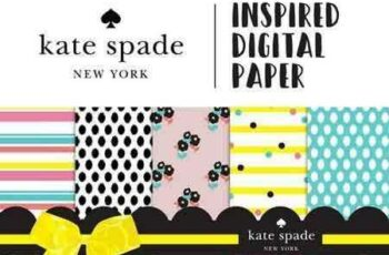 1707027 KATE SPADE Inspired Digital Paper 1348619 2