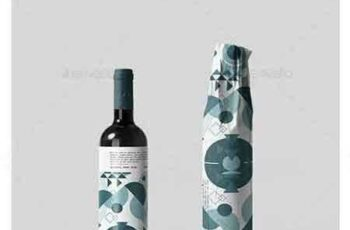 1707033 Wine Bottle Wrapping Mock-up 2 20824978 6
