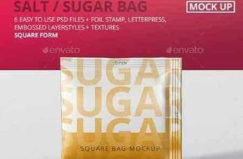 1707037 Salt Sugar Bag Mockup - Square 20620545 2