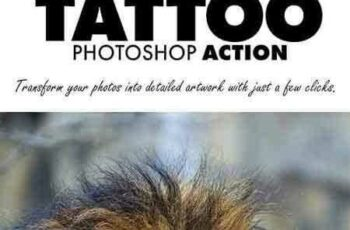 1707086 Tattoo Photoshop Action 20897016 5