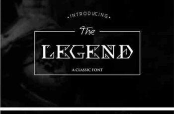 1707088 The Legend Font 1950404 7