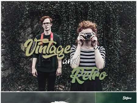 1707107 30 Vintage & Retro Lightroom Presets 20846282