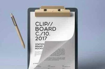 1707119 Clipboard Stationery Mockup Vol2 7