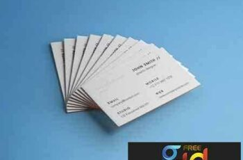 1707121 Business Card Brand Mockup Vol 4 6